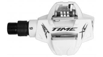 Time ATAC XC6 MTB-Pedale Stahlachse weiß