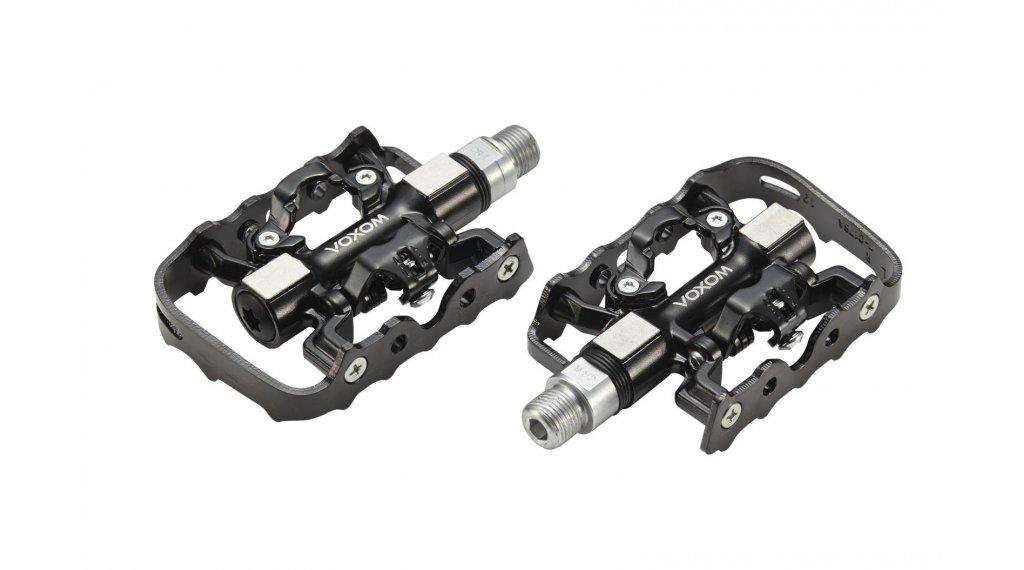 Voxom Pe18 Hybrid-Pedale schwarz