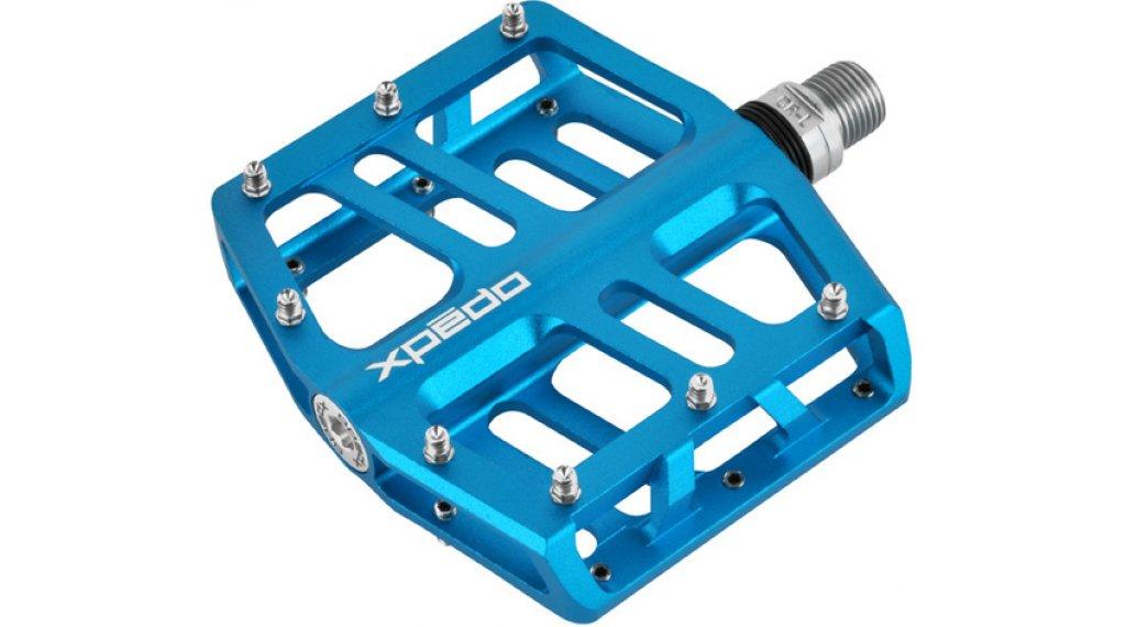 Xpedo JEK MTB Plattform-Pedale blau
