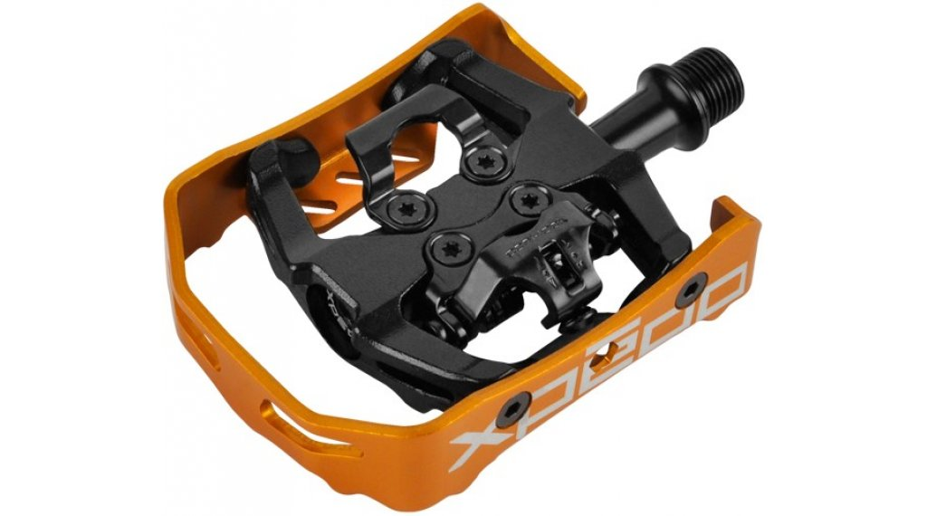 Xpedo Milo MTB Duo-Pedale orange