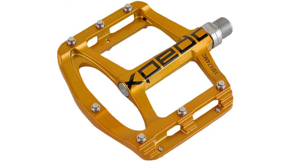 Xpedo Spry MTB Plattform-Pedale gold