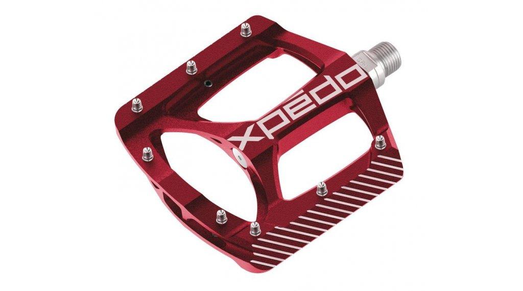 Xpedo ZED MTB Plattform-Pedale rot