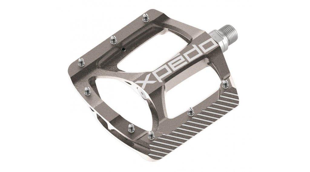 Xpedo ZED MTB Plattform-Pedale silber