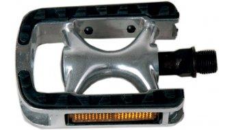 Procraft Tour Non Slip aluminio pedales color plata/negro(-a)
