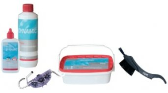 Dynamic kit de limpieza y cuidado de cadenas profesional
