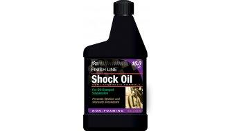 Finish Line aceite de horquillas de suspensión 10WT aceite especial para semiduro(-a) suspensión 470ml-bidón