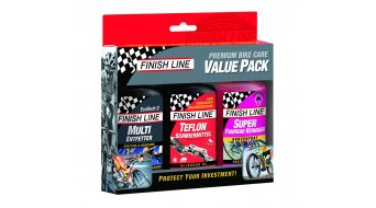 Finish Line premium bike Care Value Pack 3x120ml
