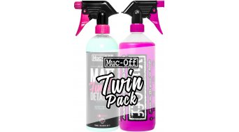 Muc-Off bike Cleaner reiniger 1 liter pompfles + 1 liter mat Finish Detailer