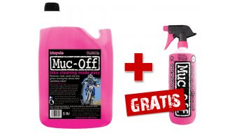 Muc-Off Bike Cleaner Reiniger 5 Liter Kanister + GRATIS Bike Cleaner 1 Liter Pumpflasche