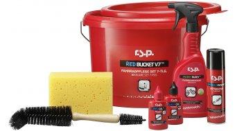 r.s.p. Red Bucket V7 onderhoud/onderhoudsmiddelen set incl. emmer