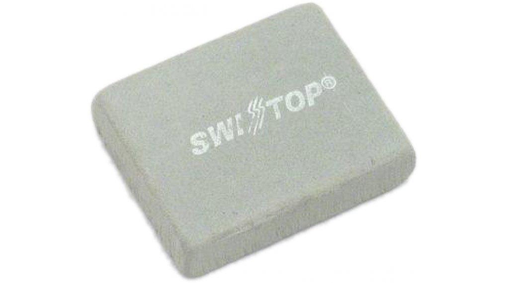 SwissStop Poliergummi zur Felgenreinigung für Alu-Felgen blau