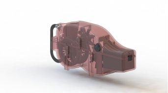 Pedros Chain Pig Machine dispositivo limpiacadenas
