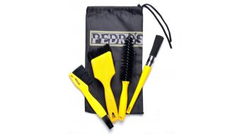Pedros Pro Brush Kit cuatro zepillos especiales en bolso útil