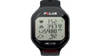 Polar RCX 5 Bike Computer negro(-a) Mod. 2012- dispositivo de pruebas sin accesorio y pila!
