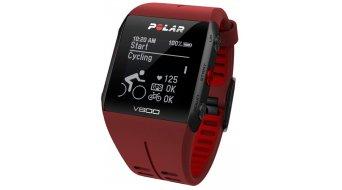 Polar V800 GPS-Multisportuhr Javier Gomez Noya modelo de edición limitada rojo