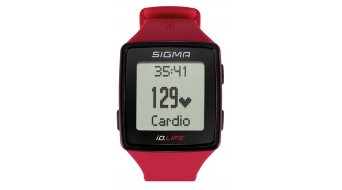 Sigma Sport ID.Life Sportwatch rouge