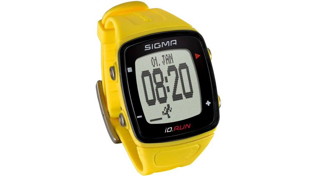 Sigma Sport ID.Run GPS Sportuhr yellow
