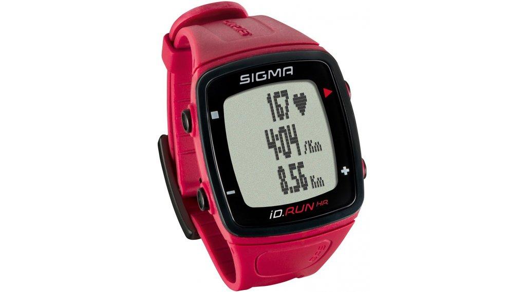 Sigma Sport ID.Run rueda trasera GPS Sportuhr rouge