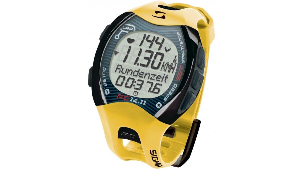 Sigma Sport RC 14.11 Running Pulsuhr yellow