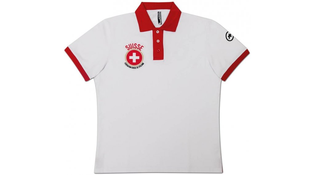 Assos suissefed Polo-triko krátký rukáv pánské velikost L Swiss