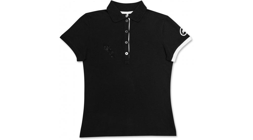 Assos Corporate Polo-Shirt 短袖 女士 型号 L blockBlack