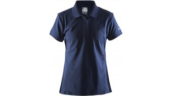 Craft Classic Pique Polo shirt korte mouw dames maat.#*en*#M navy- MUSTERcollectie
