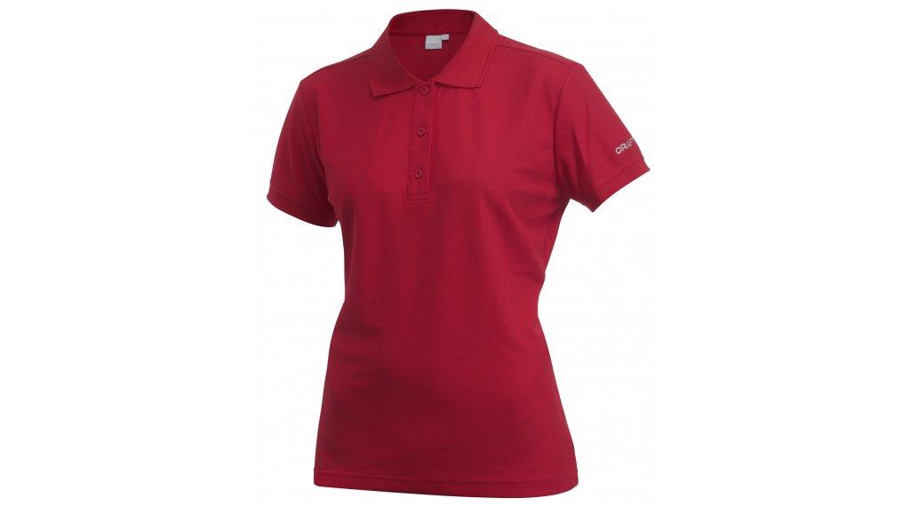 Craft Pique Classic Poloshirt 短袖 女士 型号 XL bright red