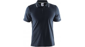Craft in-The-Zone Pique Polo da uomo-Poloshirt manica corta mis. S dk navy