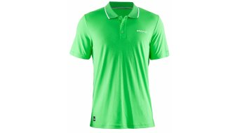 Craft in-The-Zone Pique Poloshirt manica corta da uomo mis. S craft verde