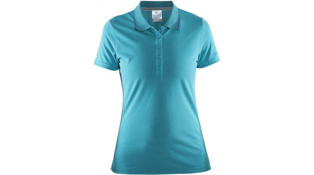 Craft in-The-Zone Pique Poloshirt manica corta da donna mis. XS drop