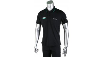 Craft Bora-hansgrohe Pique Polo kurzarm Herren-Poloshirt black Mod. 2017
