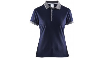 Craft Noble Pique Polo Damen-Poloshirt kurzarm M