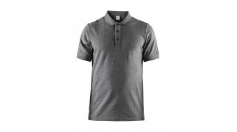 Craft Casual Polo Pique Poloshirt da uomo manica corta mis. M dark grey Melange- Sample