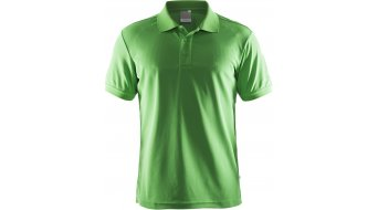 Craft Pique Classic Poloshirt kurzarm Herren Gr. M craft green