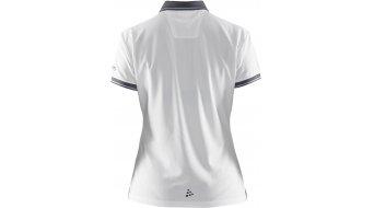 Craft Noble Pique Poloshirt manica corta da donna mis. L white