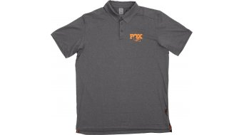 Fox Polo camiseta Caballeros gris