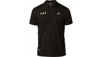 FOX Starter Polo maillot manches courtes hommes taille noir