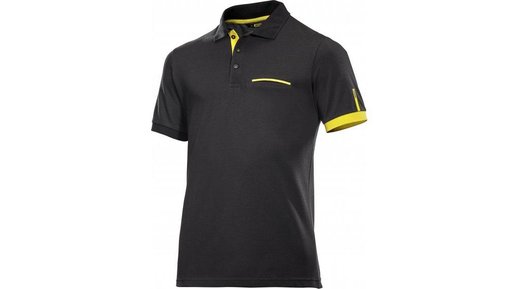 Mavic Le Sang Jaune Polo- shirt short sleeve men size S black