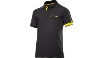 Mavic Le Sang Jaune Polo-Shirt Kurzarm Herren-Polo-Shirt black