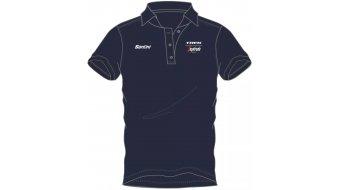 Santini Trek-Segafredo Team camiseta Polo de manga corta Gr. navy
