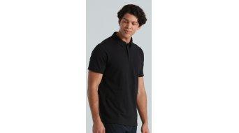 Specialized Legacy Poloshirt manica corta da uomo mis. S nero