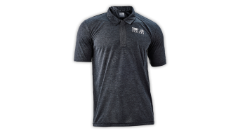 Troy Lee Designs Ride Polo kurzarm Herren-Polo Gr. L dark gray - VORFÜHRTEIL