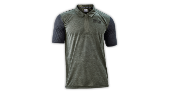 Troy Lee design Ride Polo manches courtes hommes-Polo taille L Army green- objet de démonstration