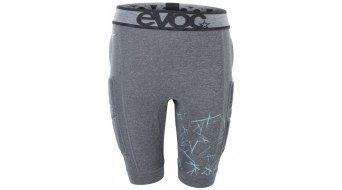 EVOC Crash Pants protection pant kids short carbon grey