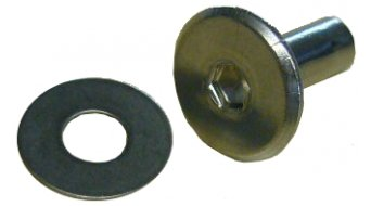 EVS Sports Ersatzniete für Web Knee Brace D-Ring schwarz