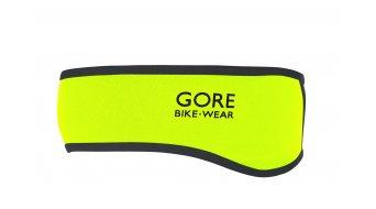 GORE Bike Wear Universal cinta para poner en la frente Windstopper Soft Shell tamaño unisize color neón amarillo/negro