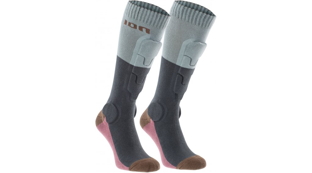 ION BD-Socks 2.0 protectores calcetines tamaño 35-38 thunder gris