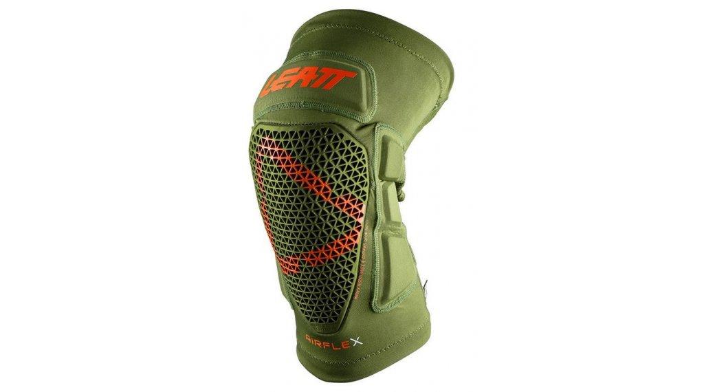 Leatt Airflex PRO 膝骨-/胫骨protektor 型号 S forest