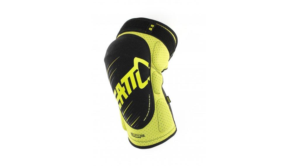 Leatt 3DF 5.0 护膝 型号 S/M 青柠色 款型 2018