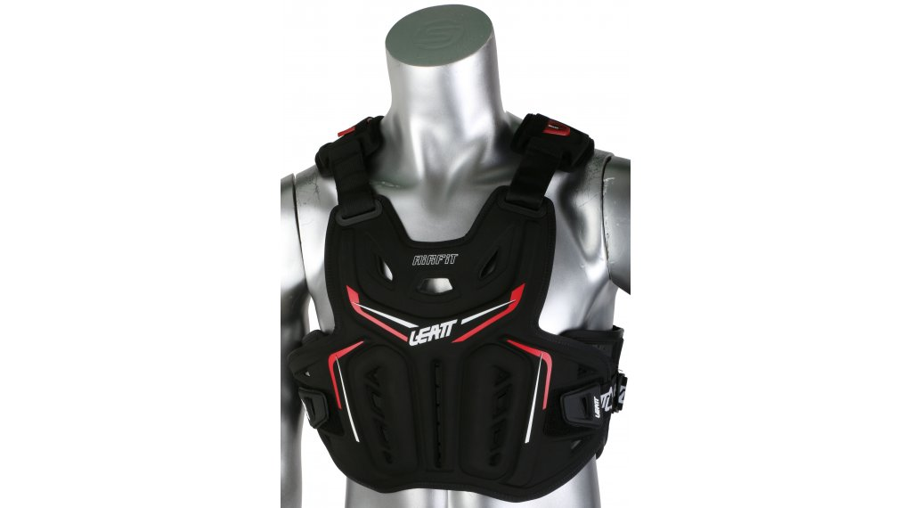 Leatt Chest Protector 3DF AirFit Brustprotektor Gr. unisize black/red